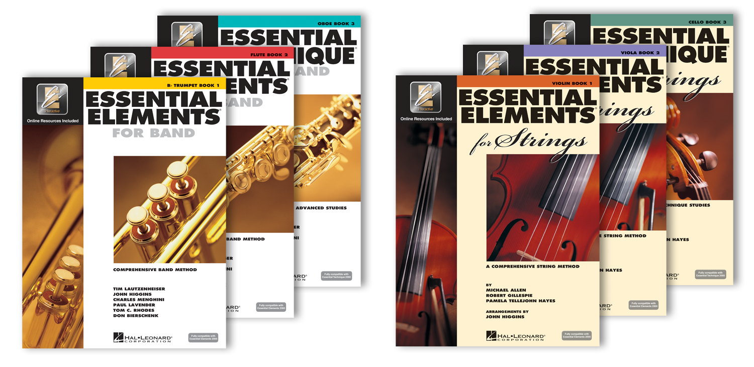 Essential Elements Method Books